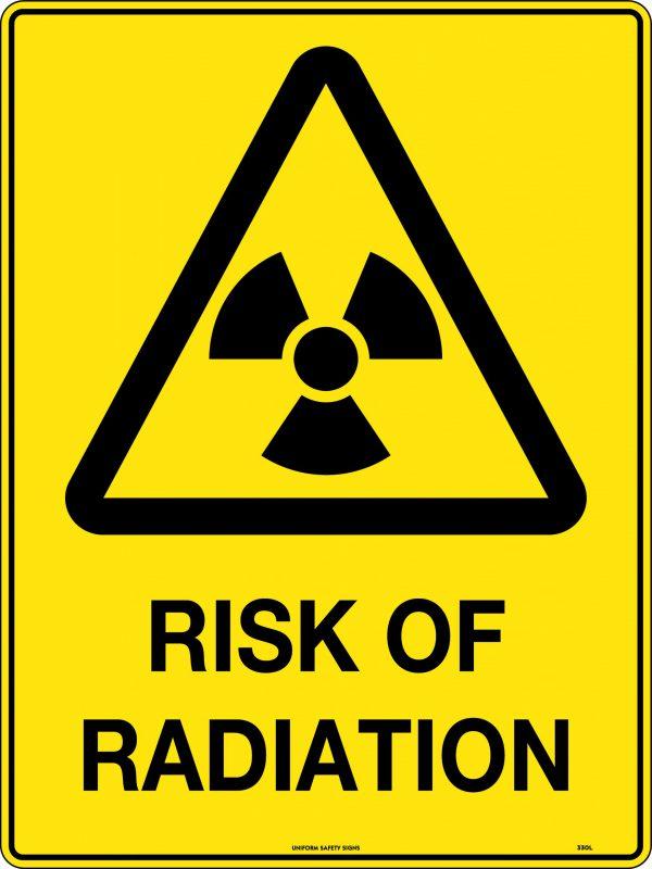 Risk Of Radiation Sign