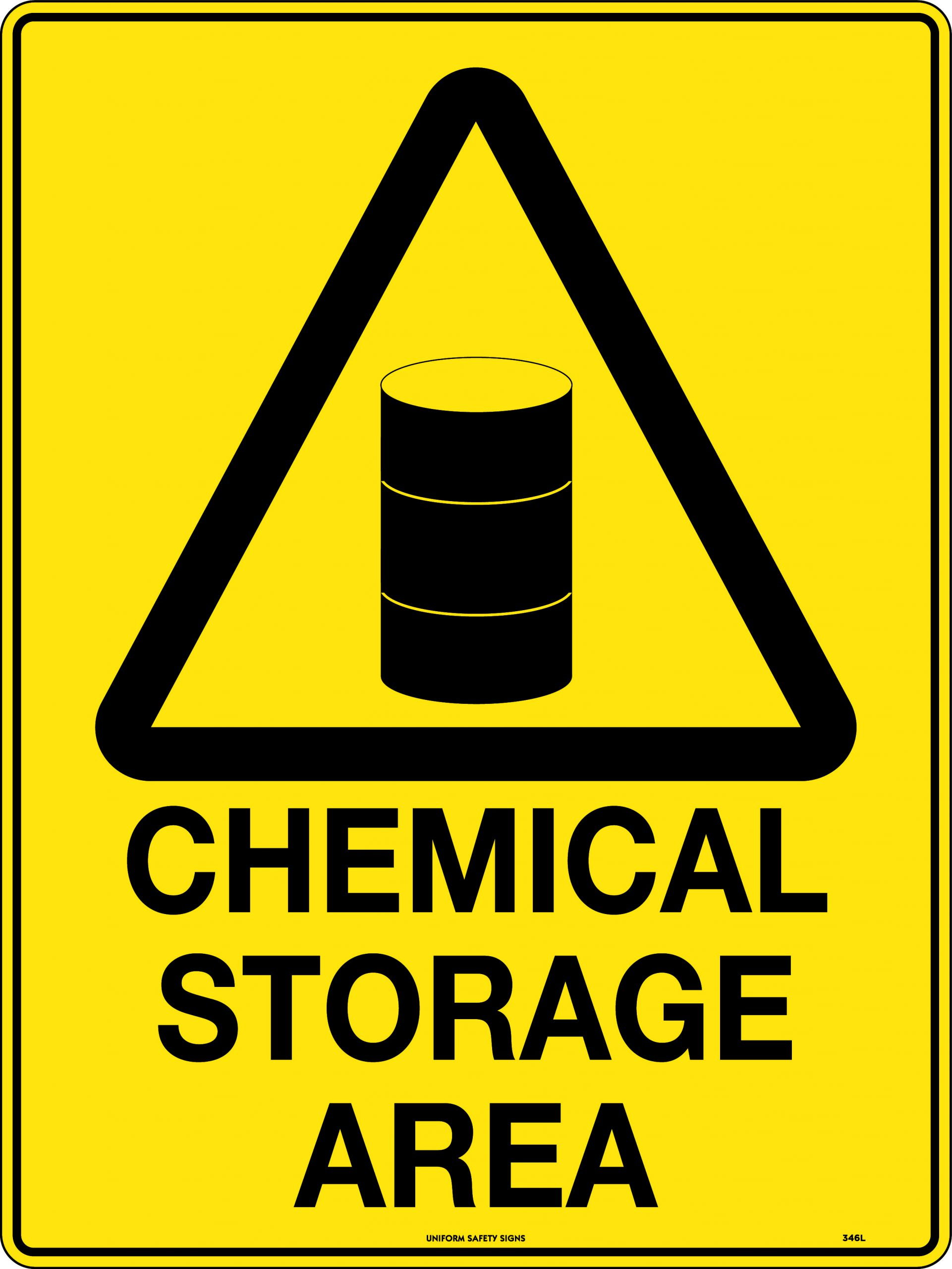 Chemical Storage Area | Uniform Safety Signs