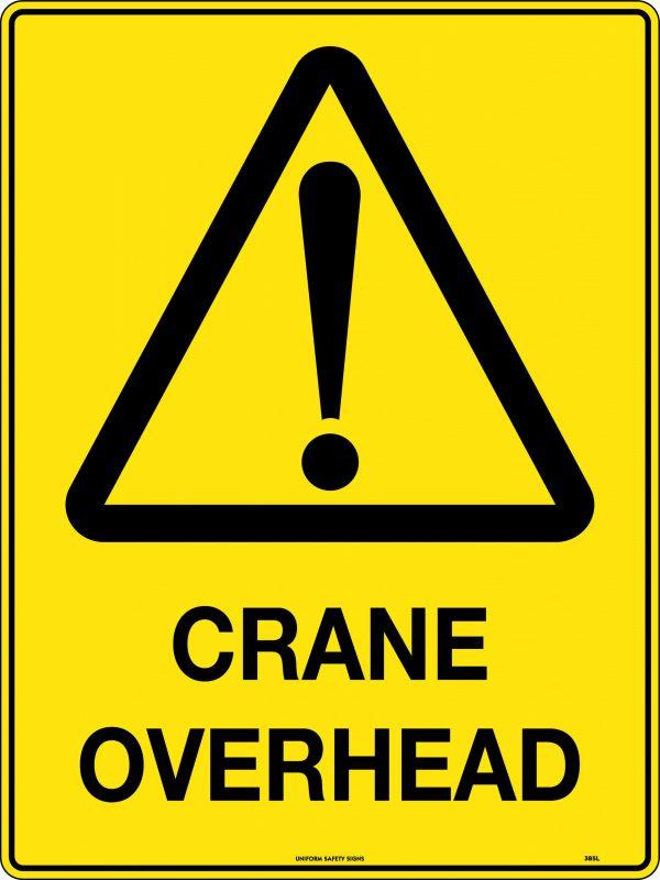 Crane Overhead Sign