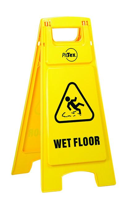 Wet Floor – Plastic A-Frame Safety Signage