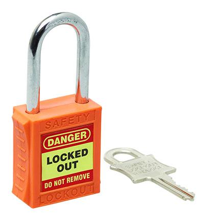 Premium Orange Lockout Safety Products