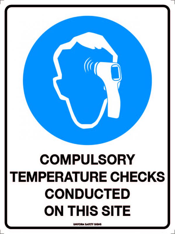Compulsory Termperature Checks Conducted On This Site