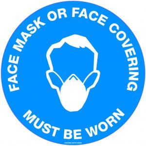 Mask & Temperature Check Signage